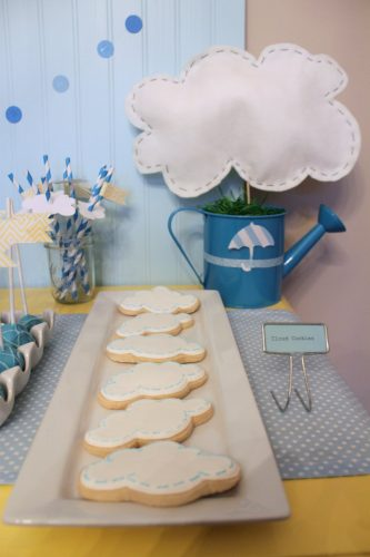 April Showers Birthday Party Theme