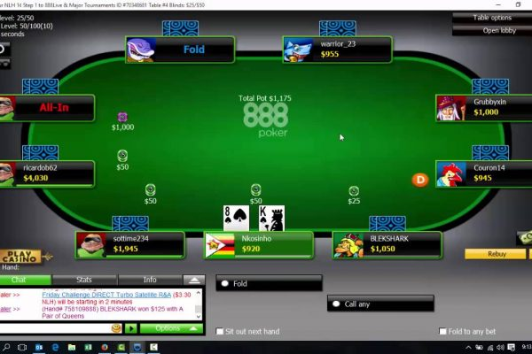 Games Online Poker Getting Started